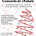 18 dicembre 2014 - Concerto di Natale