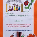 21 maggio 2015 - Concerto Casa Protetta
