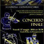 27 maggio 2016 -Concerto fine anno