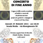 29 maggio 2014 - Concerto di fine anno